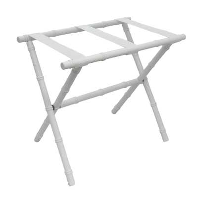 Nylon Series Bamboo Inspired Straight Leg Luggage Rack - Wayfair