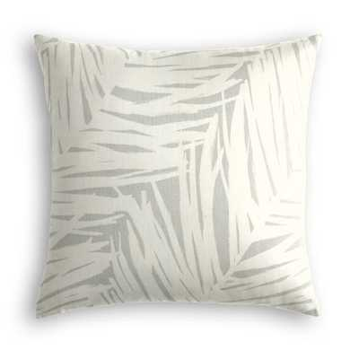 Throw Pillow - Silver - 20 x 20 - Loom Decor