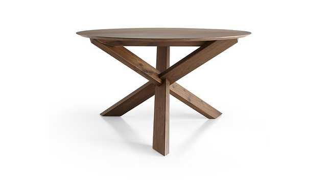 Apex Round Dining Table - Crate and Barrel