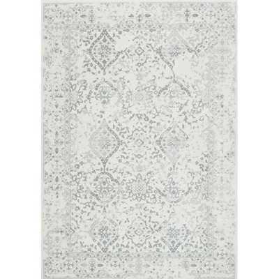 Dorothea Ivory/Gray Area Rug 9 x 12 - Wayfair