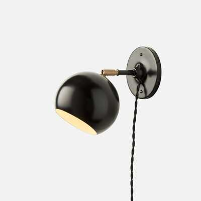 Isaac Plug-In Sconce - Short Arm - Schoolhouse Electric