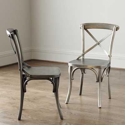 Ballard Designs Constance Metal Side Chairs - Set of 2 - Ballard Designs