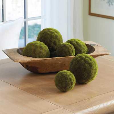"""Ballard Designs Moss Sphere  6"""" - Ballard Designs"""