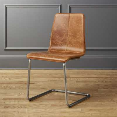 Pony Leather Chair - CB2