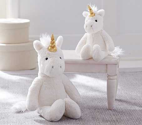 Unicorn Faux Fur Plush Collection, Small - Pottery Barn Kids