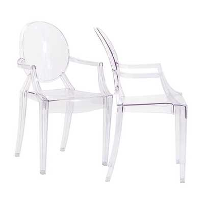 CASPER DINING ARMCHAIRS SET OF 2 - Modway Furniture