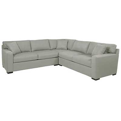 Phoenix Corner Sectional - 3 PC, bella grey - Z Gallerie