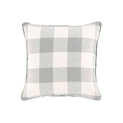 Ballard Designs Buffalo Check Pillow Gray - Ballard Designs