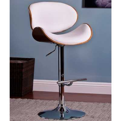 Modern Adjustable Swivel Barstool - Overstock