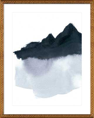 mountain scape minimal - Artfully Walls