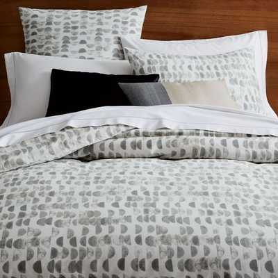 Organic Half Moon Duvet Cover - King - West Elm
