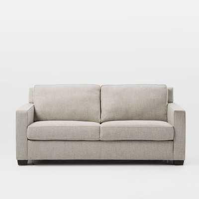 Henry® Pull-Down Full Sleeper Sofa - Gravel (Twill) - West Elm