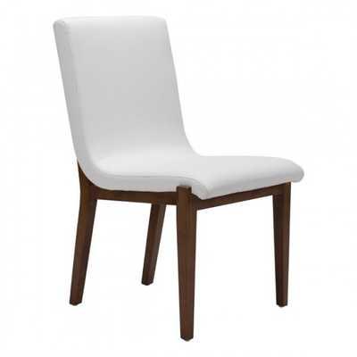 Hamilton Dining Chair White, Set of 2 - Zuri Studios