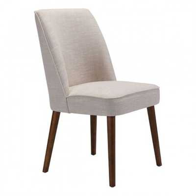 Kennedy Dining Chair Beige, Set of 2 - Zuri Studios