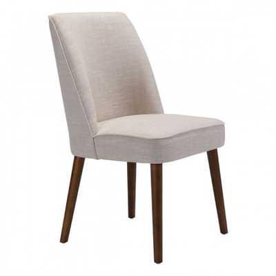 Kennedy Dining Chair Beige, Set of 2 - Zuri Studios
