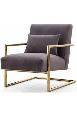 Lyla Morgan Velvet Chair - Maren Home