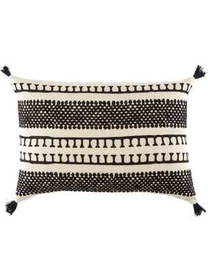 VENTUS PILLOW, BLACK AND WHITE - POLYESTER FILLED - Lulu and Georgia