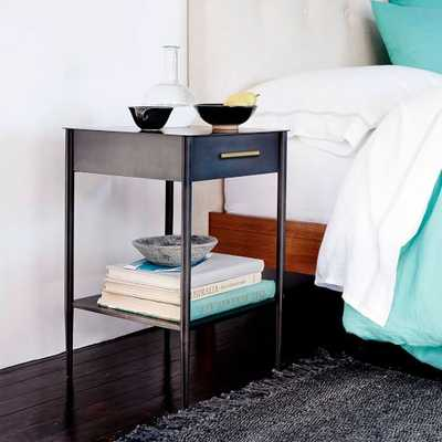 Metalwork Nightstand with Handle - Hot-Rolled Steel Finish - West Elm