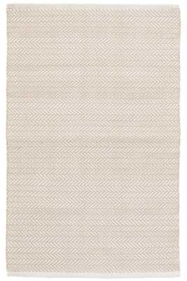 C3 Herringbone Linen Indoor/Outdoor Rug - 6' x 9' - Dash and Albert