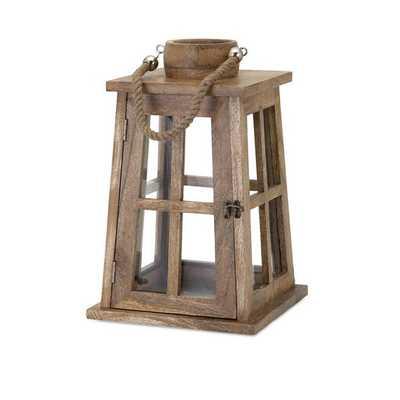 Maddie Wood Lantern - Mercer Collection