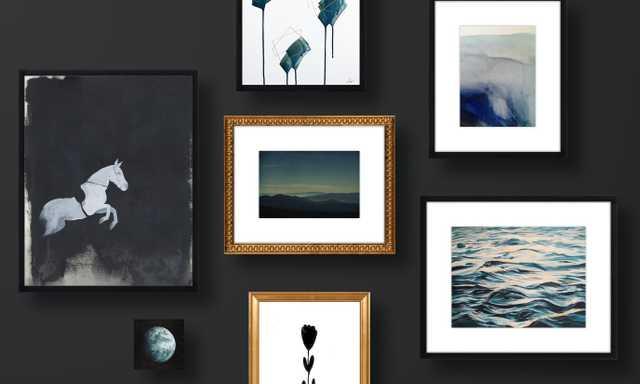 Mood Over Matter Gallery Wall - Artfully Walls