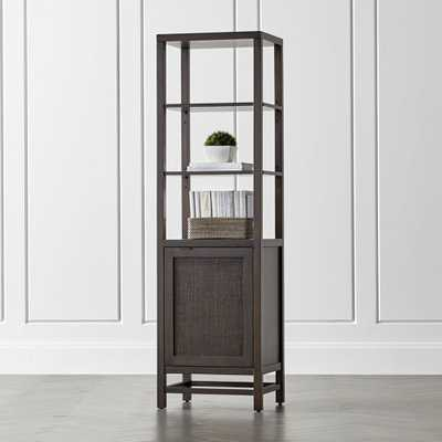 Blake Carbon Tall Cabinet - Crate and Barrel