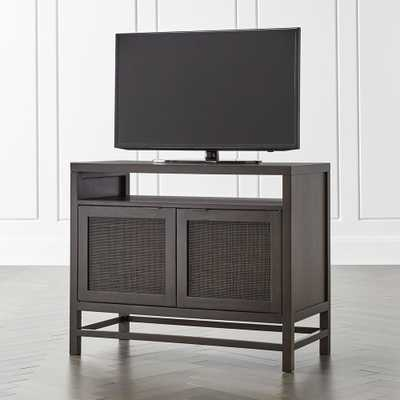"Blake Carbon 42"" Media Console - Crate and Barrel"