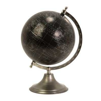 Moonlight Globe with Nickel Finish Stand - Mercer Collection