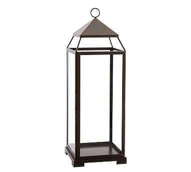 Malta Lantern - Bronze Finish, Large - Pottery Barn