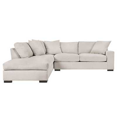 Del Mar Daybed Sectional - 2PC [Fabric :Dublin Natural MH] Left Arm Facing - Z Gallerie