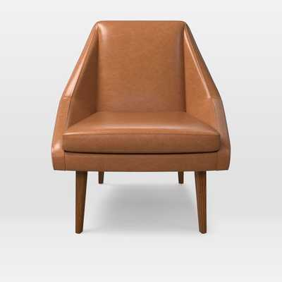 Parker Leather Slipper Chair - West Elm