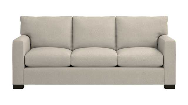 Axis II - 3 Seat Sofa In Taft, Cement - Crate and Barrel