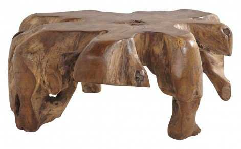 Teak Root Table - Small - Jayson Home