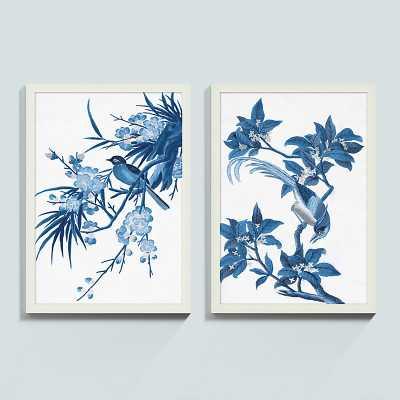 "Ballard Designs China Blue Art  30"" x 21"" Print I - Ballard Designs"