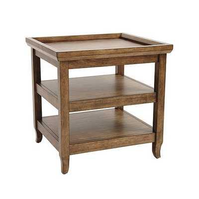 Morgan End Table, Medium Walnut - Ballard Designs