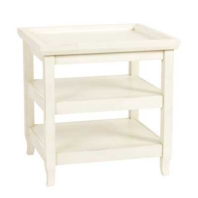 Morgan End Table, Antique white - Ballard Designs