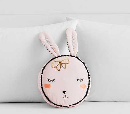 The Emily & Meritt Bunny Shaped Decorative Pillow - Pottery Barn Kids