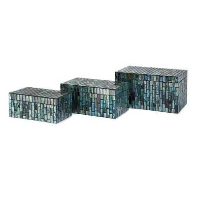 Aramis Mosaic Boxes - Set of 3 - Mercer Collection