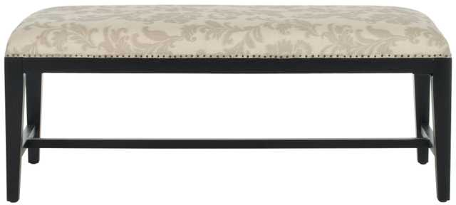 Zambia Bench - Taupe And Beige Print - Arlo Home
