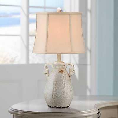 Sofia Ivory Ceramic Table Lamp - Lamps Plus
