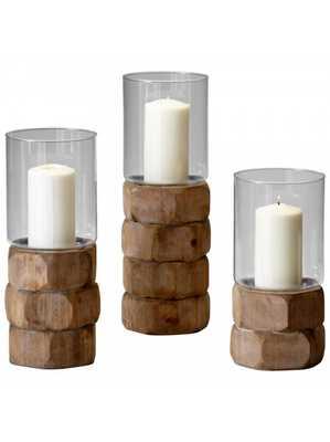 Mahari Candleholder - Large - Lulu and Georgia