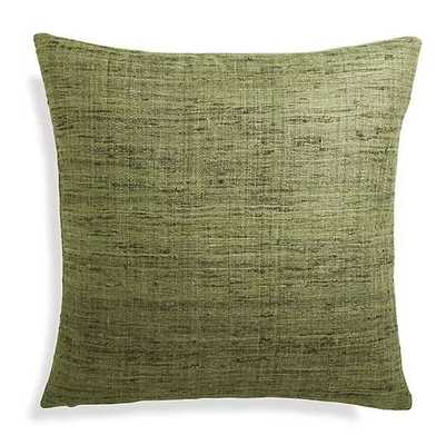 """Trevino Bronze Green 20"""" Pillow - Crate and Barrel"""
