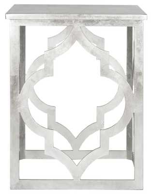 MILO TRELLIS SILVER LEAF END TABLE - Arlo Home