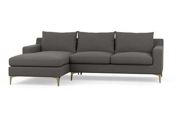 SLOAN Fabric Sofa with Left Chaise - Interior Define