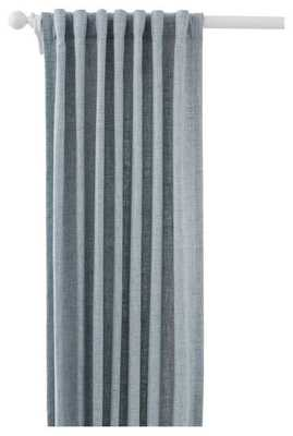 "GREYLOCK GREYLOCK LIGHT BLUE INDOOR/OUTDOOR CURTAIN PANEL - 48"" x 120"" - Pine Cone Hill"