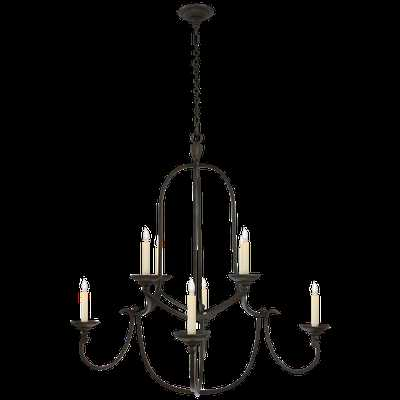 Flemish Medium Round Chandelier - Circa Lighting