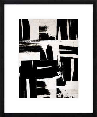 Wabi Sabi 16-02 - 16x20 - Black Wood Frame with mat - Artfully Walls
