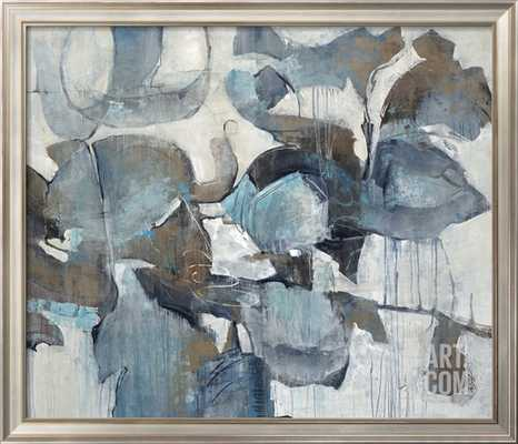 """BEFORE THE BEGINNING - 48"""" x 36"""" - COVENTRY Champagne Wide - Width 2"""" - art.com"""