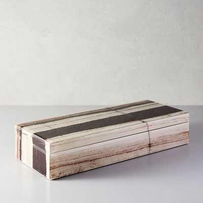 Decoupage Box - Long - West Elm