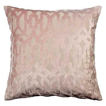 "Monaco Pillow 24"" - Blush - Z Gallerie"